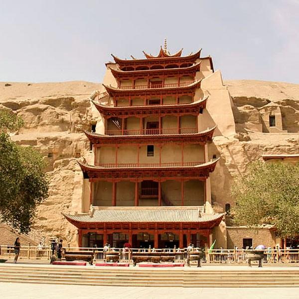 Grutas de Mogao enclave de la Ruta de la Seda en China