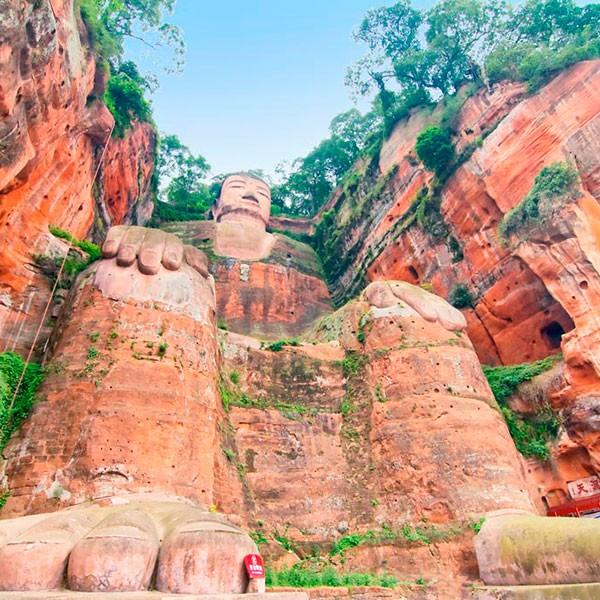 Gran Buda de Leshan en el viaje a Yunnan y Sichuan