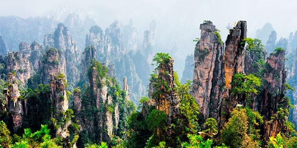 Parque Nacional de Zhangjiajie, la Pandora de Avatar