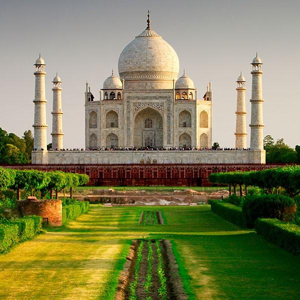 Palacio Taj Mahal en Agra