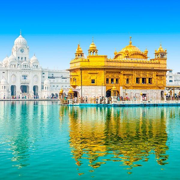 Templo de Oro en Amritsar