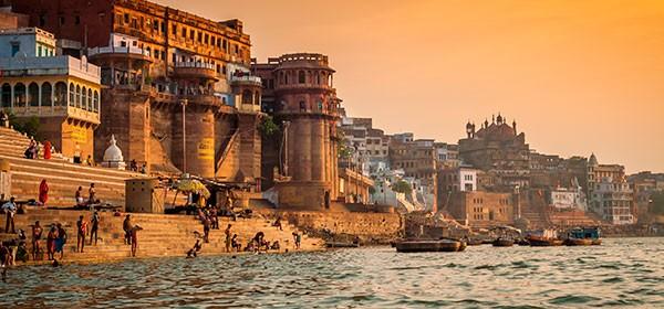 Benarés y el río Ganges