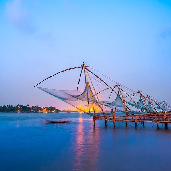 Redes voladizas en Cochin