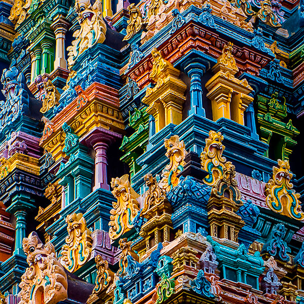 templo de Meenakshi en Madurai
