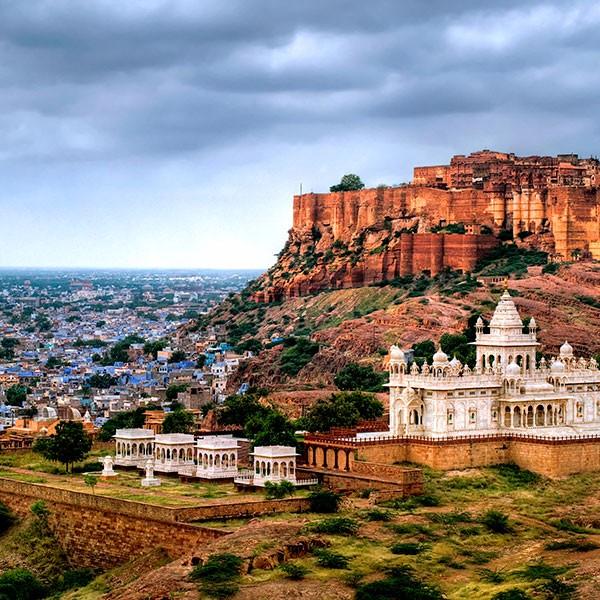 Ciudad de Jodhpur en Rajasthan