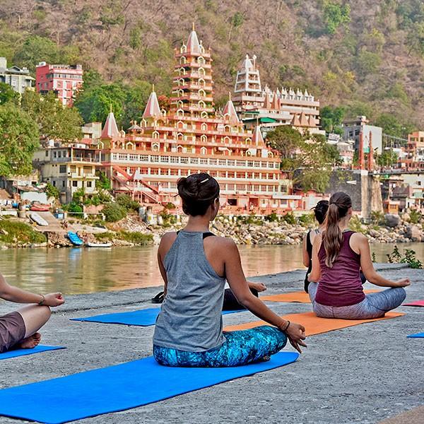 Viaje yoga experience en India con estancia en ashram
