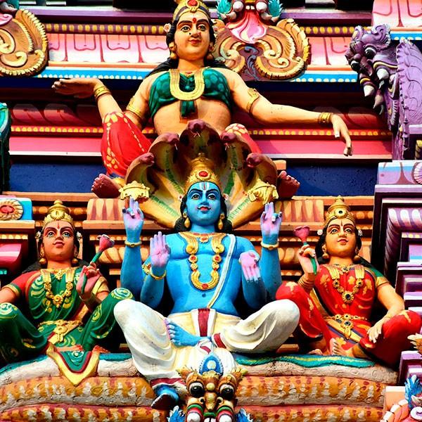 Templo hindú en Bangalore