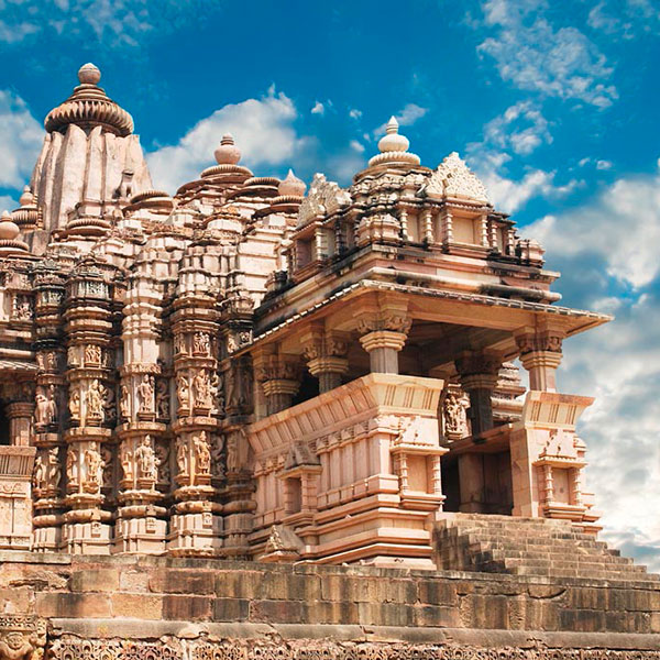 Templos en Khajuraho, India
