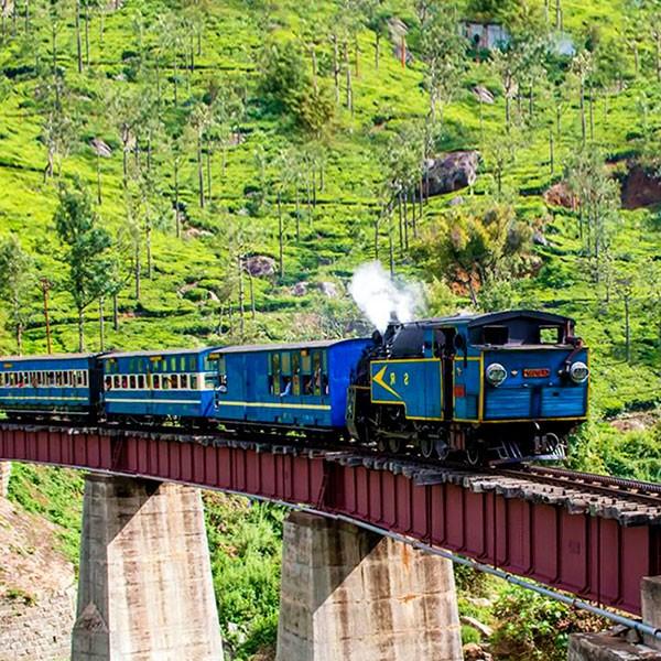Viaje en el Nilgiri mountain railway por las estaciones de montaña