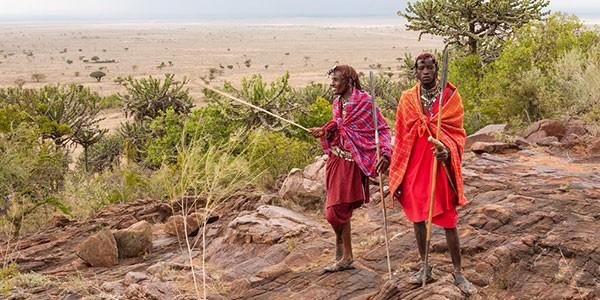 Visita a una tribu Masái
