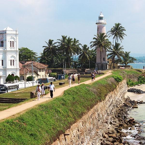 Fortaleza de Galle en Sri Lanka