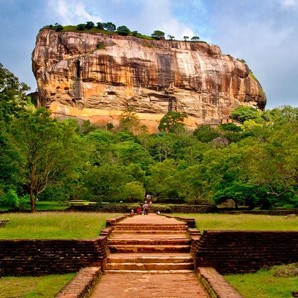 La Roca del León en Sigiriya