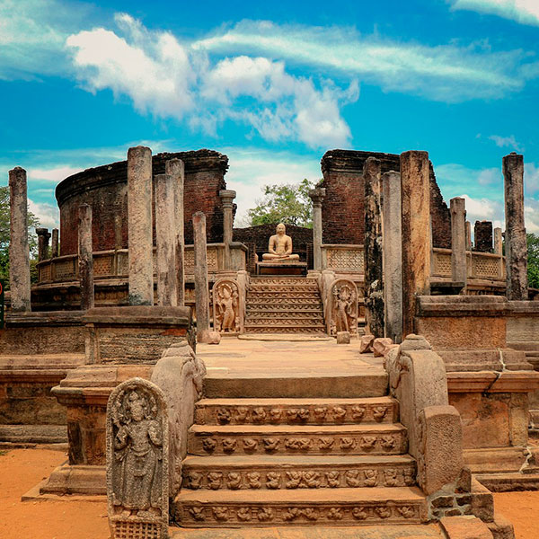 Polonnaruwa, triángulo cultural de Sri Lanka