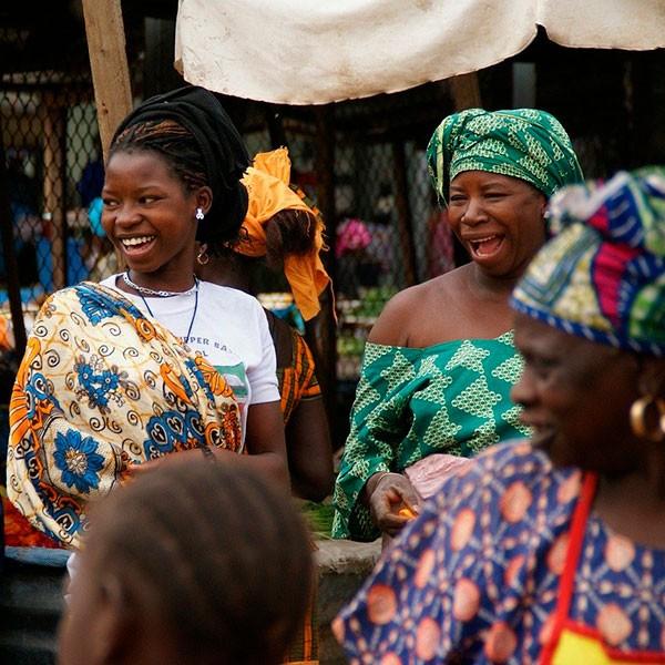 Mercado en Arusha, Tanzania