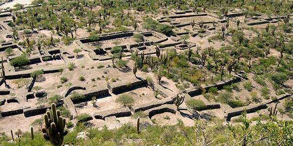 Ruinas de Quilmes en Argentina norte