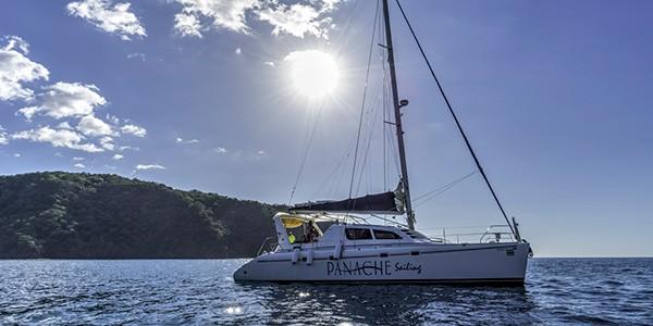 Paseo en catamarán en Guanacaste