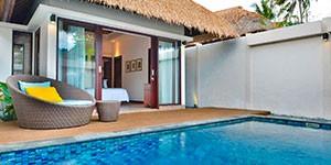 Lembongan hotel luna de miel en Indonesia