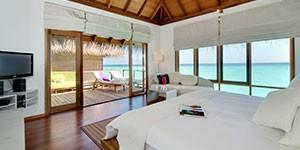 Resort de lujo en Maldivas Maafushivaru overwater