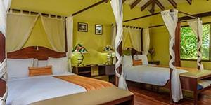Manatus Lodge en Tortuguero