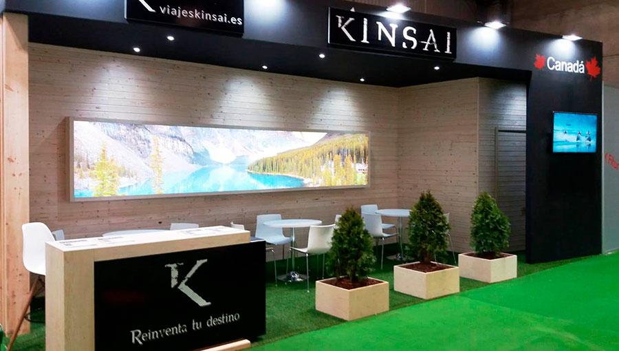 Stand de Viajes Kinsai en Fitur 2020
