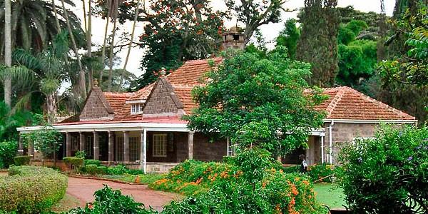 Casa Museo de Karen Blixen en Kenia