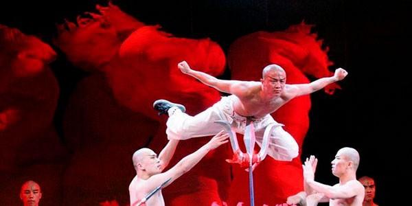 The Legend of Kung Fu Espectáculo en Beijing